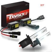 TXVSO 110 Вт HID Xenon комплект автомобильных фар с декором 2 шт. 12 В 55 Вт HID лампы с тонким балластом для 2006 Chrysler 300 Toyota Prius