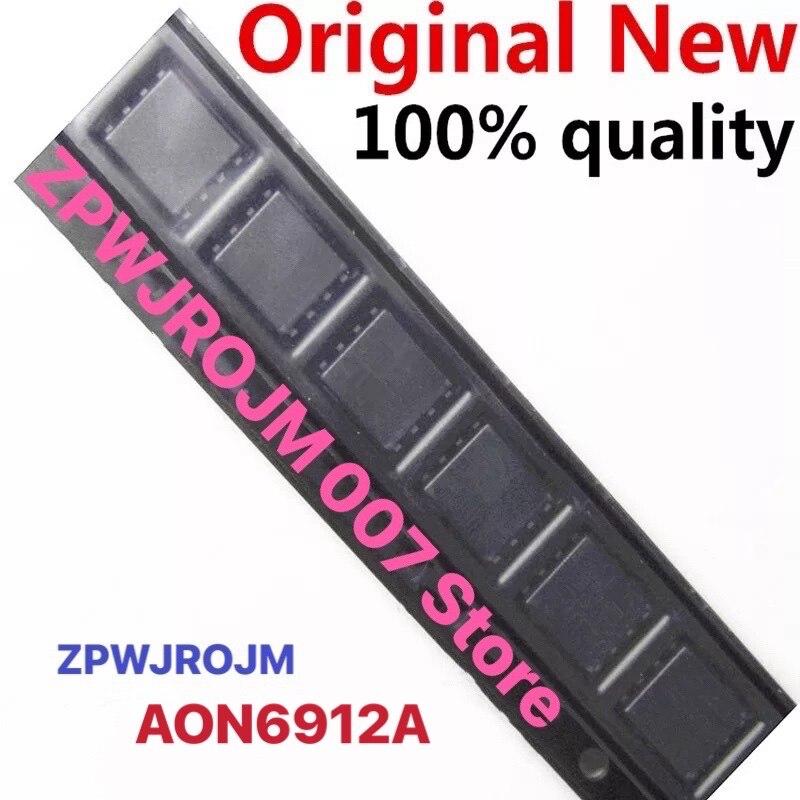 5pcs/lot AON6912A AO6912A 6912A MOSFET QFN-8