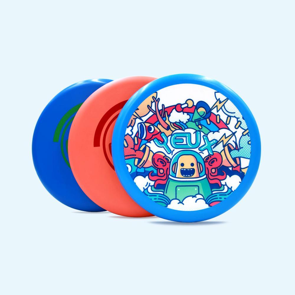 Xiaomi cadena YEUX actividad al aire libre juguete entretenimiento familiar deporte disco volador Material inocuo suave disco volador tiro captura