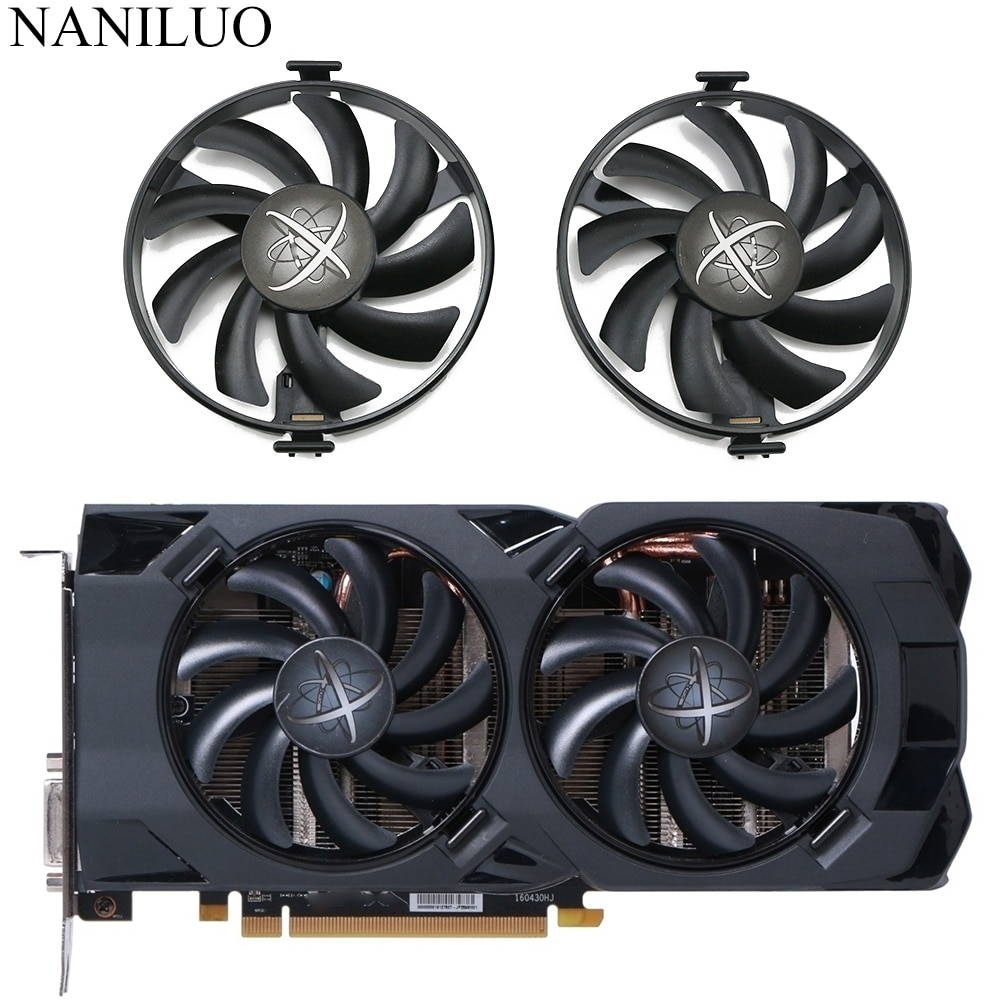 FDC10U12S9-C RX480 RX470 Cooler Fan Replace For XFX Radeon RX 480 470 470D RS Black Wolf  Graphics Card Cooling Fan