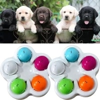 intelligent dog educational toys for beginners dog treatment dispenser interaction to improve pet iq specially designed training