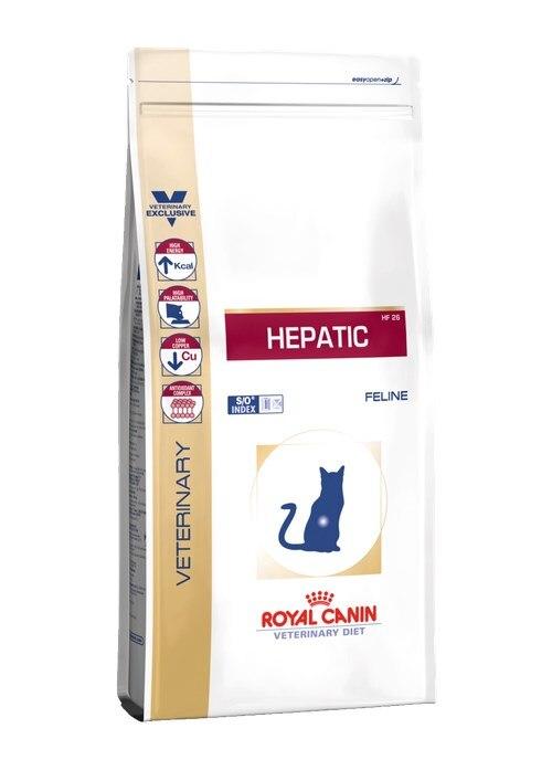 ROYAL CANIN Hepatic HF 26 сух.д/кошек при болезнях печени 500г