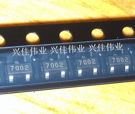 100pcs originais/2N7002 702/7002SOT23