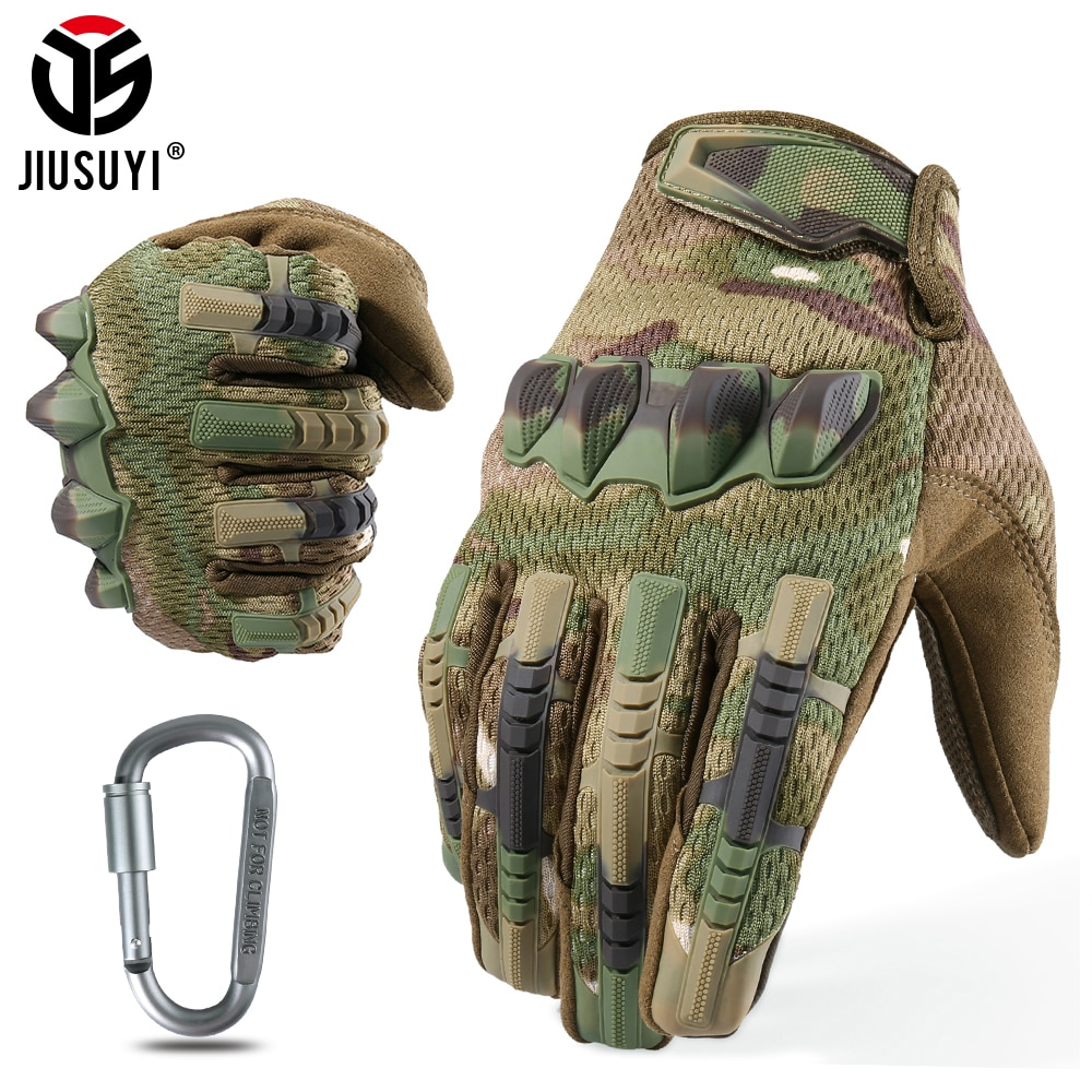 Multicam Tactical Military Full Finger Gloves Army Paintball Airsoft Combat Touch Screen Rubber Protective Glove Men Women New multicam tactical military full finger gloves army paintball airsoft combat touch screen rubber protective glove men women new