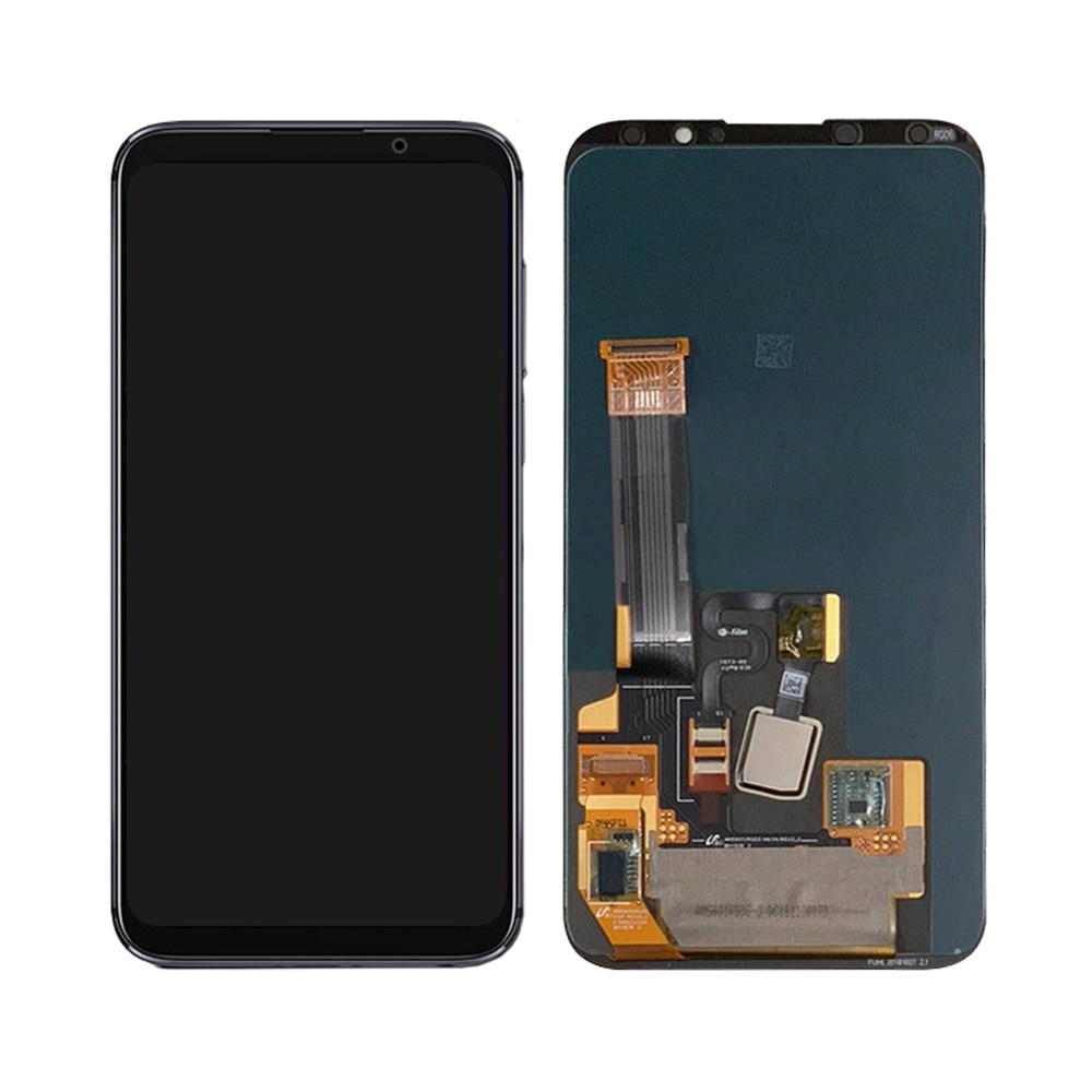 Original For MEIZU 16X LCD Touch Screen Digitizer Assembly For Meizu 16x Display with Fingerprint Frame Replacement M872Q M872H enlarge