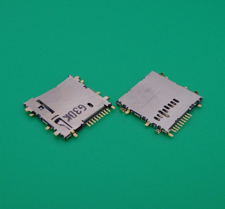 Para Samsung Galaxy Tab 3 Lite 7,0 T110 T111 3G Tab 10,1 P5200 Micro SD TF bandeja lector ranura soporte