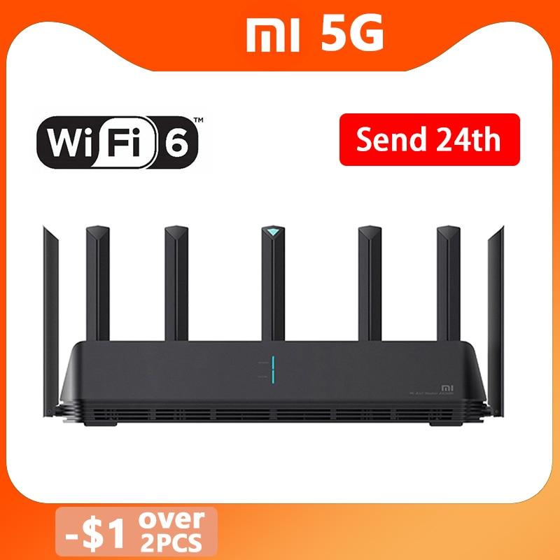 Nuevo Xiaomi AX3600 AIoT Router Wifi 6 5G WPA3 Wifi6 600Mb Dual-banda 2976Mbs Gigabit Qualcomm A53 externa amplificador de señal
