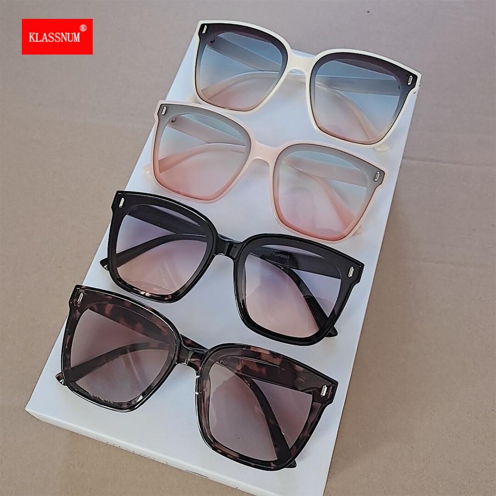 Vintage Oversize Square Sunglasses Women Luxury Brand Big Frame Men Sun Glasses Black Fashion Gradie