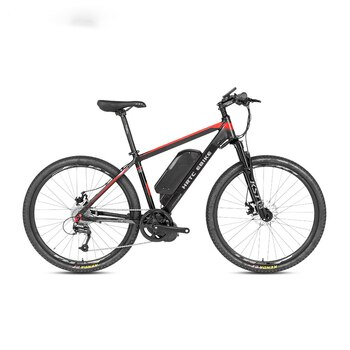 27.inch Travel Boost electric bicycle 1000W bafang mid-motor 48V lithium battery electric mountain bike C18 LCD 60km/h EBIKE