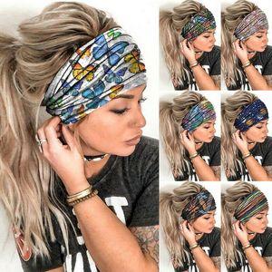 HeadBands Elastic Sports HeadWraps Turban Women  Hair Bands HeadBands