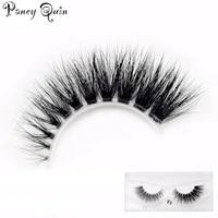 1pairs makeup mink eyelashes clear band eye lashes crisscross transparent band false eyelashes handmade dramatic lashes