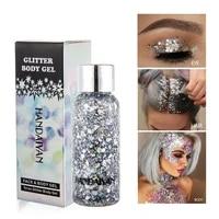 eye glitter nail hair body face glitter gel art flash heart loose sequins cream festival glitter decoration party festival