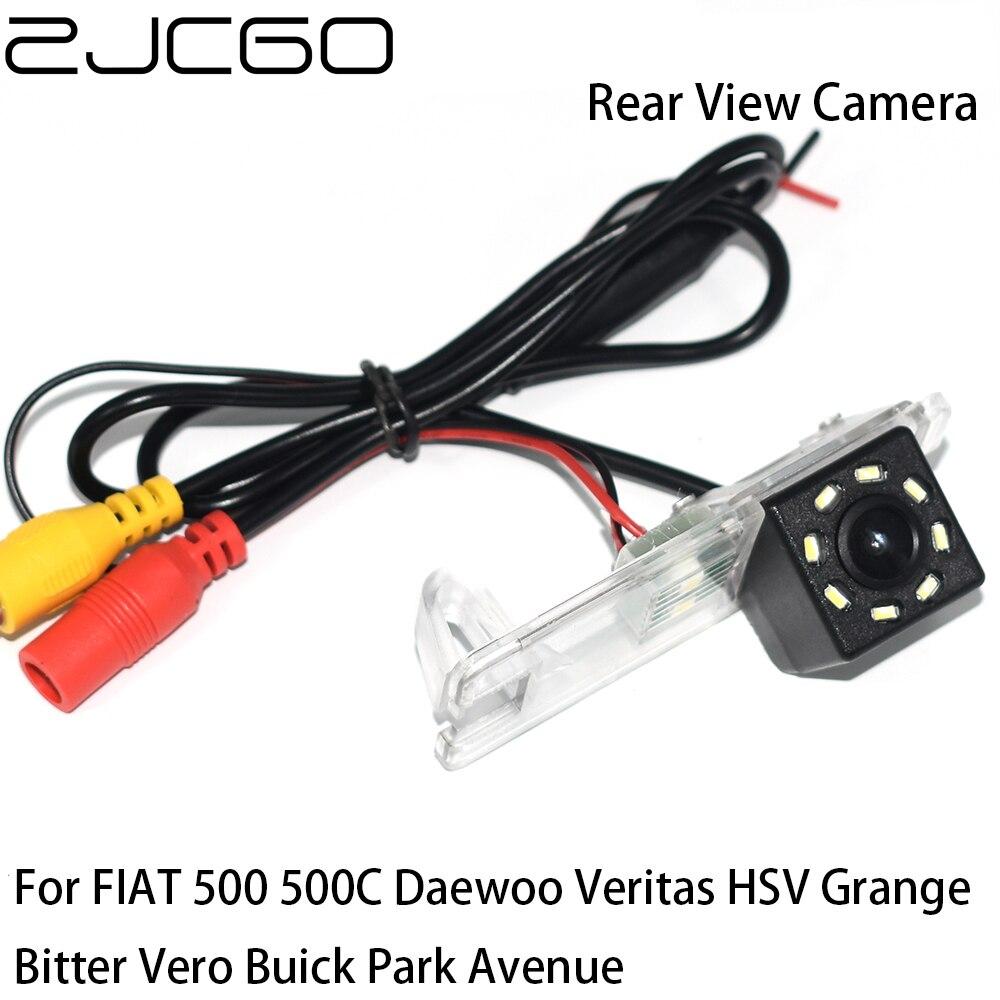 ZJCGO CCD cámara de marcha atrás de visión trasera de coche para FIAT 500 500C Daewoo Veritas HSV Grange Bitter Vero Buick Park Ave