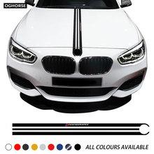 Наклейка на капот автомобиля M производительности двигателя крышка капота наклейка для хэтчбеков BMW серий 1 F20 F21
