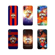 Russie CSKA Moscou logo coques de téléphone Couvre Pour HTC One U11 U12 X9 M7 M8 A9 M9 M10 E9 Plus Désir 630 530 626 628 816 820 830