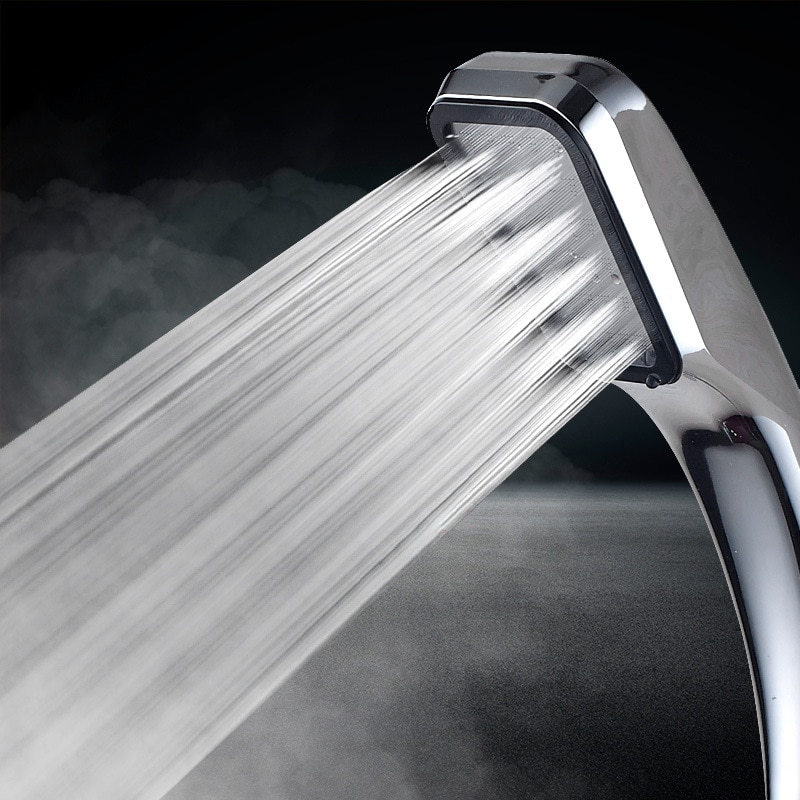 switch design abs plastic shower heads water saving high pressure shower head hand hold pressure boost shower sprayer douche high pressure shower head with filter waterfall bathroom shower head holder handheld water saving shower head sprayer head