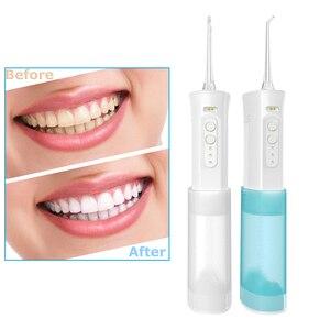 Portable Oral Irrigator Charging Electric Water Dental Floss Healthy Gums Calculu Tartar Remove Water Dental Floss