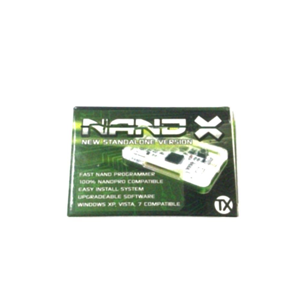 فرشاة نبض سلك معدني عدة NAND-X ل XBOX 360 الأصلي استبدال عدة دون قذيفة الكريستال