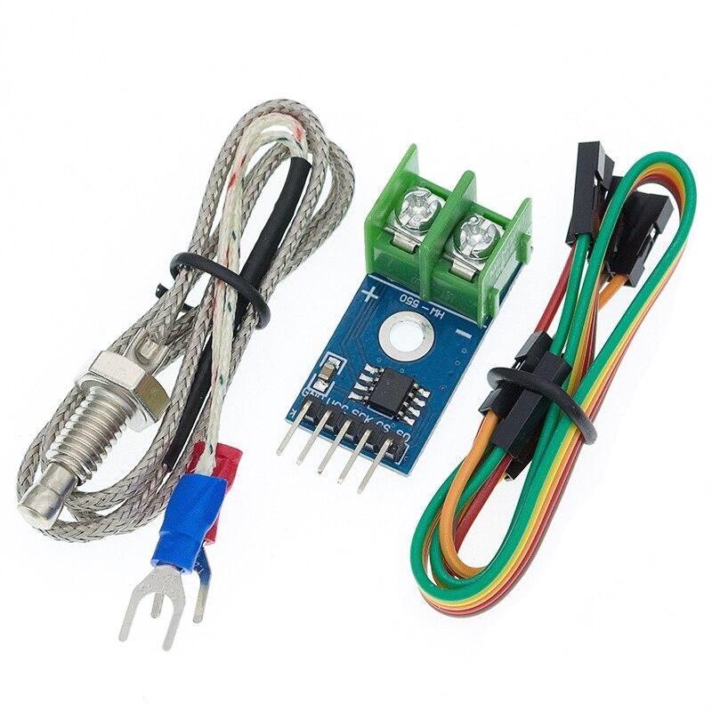 Sensor de temperatura de Temperatura del termopar tipo K MAX6675, 1 Uds., módulo de 0 a 800 grados para Arduino MAX6675 I45