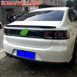 Automovil Accessories Aileron Voiture Rear Tuning Aleron Trasero Auto Car Roof Spoiler Wing 2016 2017 2018 2019 FOR Peugeot 308