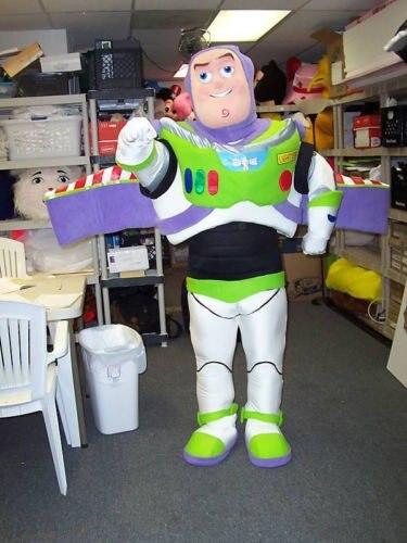 Buzz Lightyear, disfraz de Mascota de dibujos animados, disfraz de Mascota, personaje adulto, disfraz de Mascota, fiesta de cumpleaños