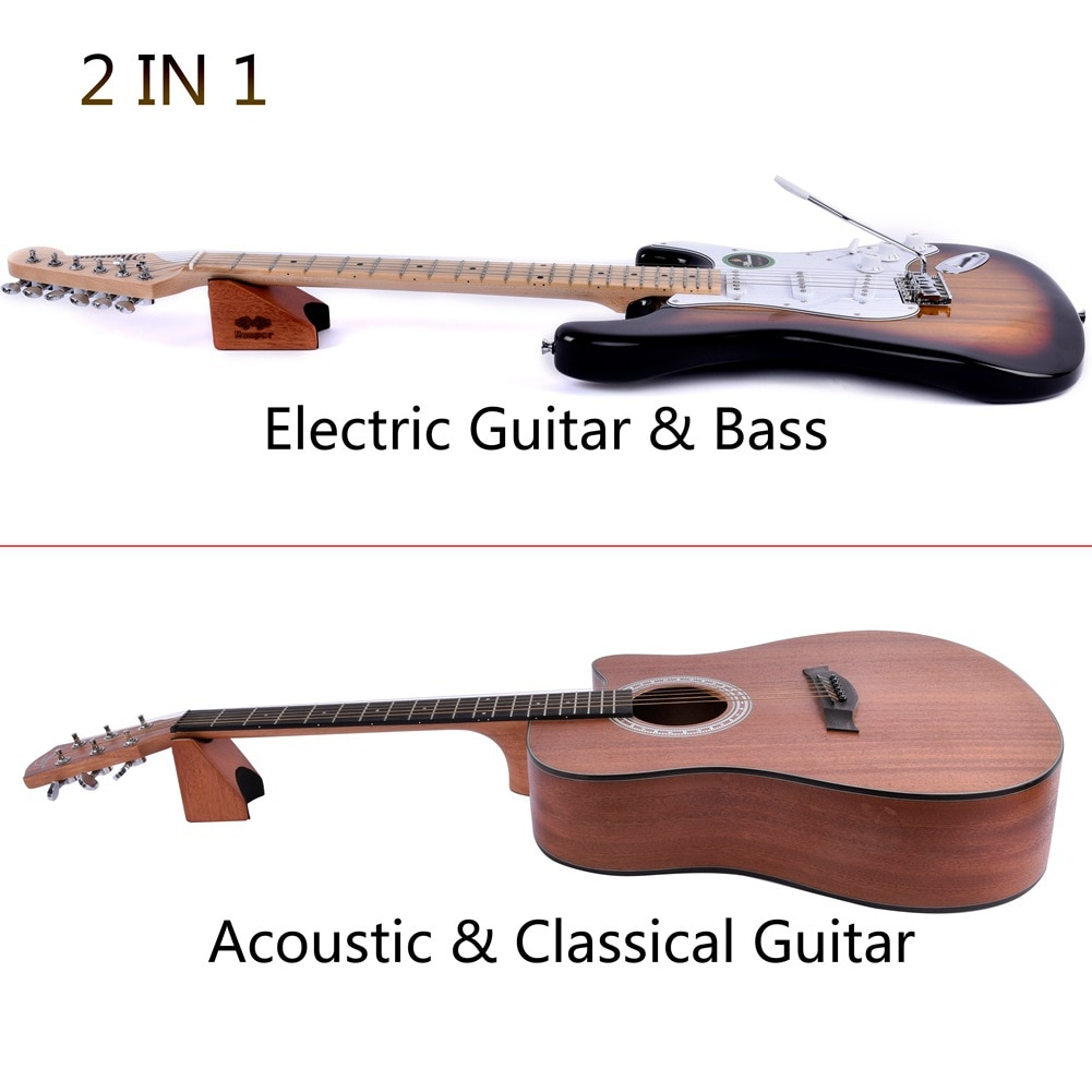 multifunction 2-in-1 Electric Acoustic Guitar Neck Rest Brace Nut Care Bass Cento Guitar Neck Rest enlarge