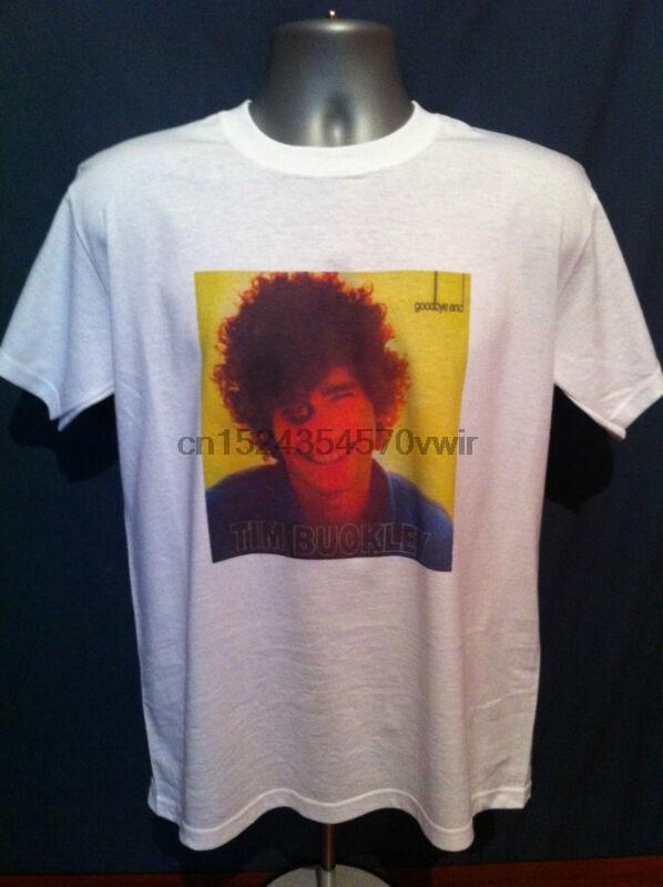 Camiseta de Tom BUCKLEY adiós HELLO jewson Young Van Monroe Nick Drake