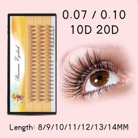 cluster lashes bundles 60pcs professional fake eyelash extension bunches natural long individual mink eyelashes makeup cilia