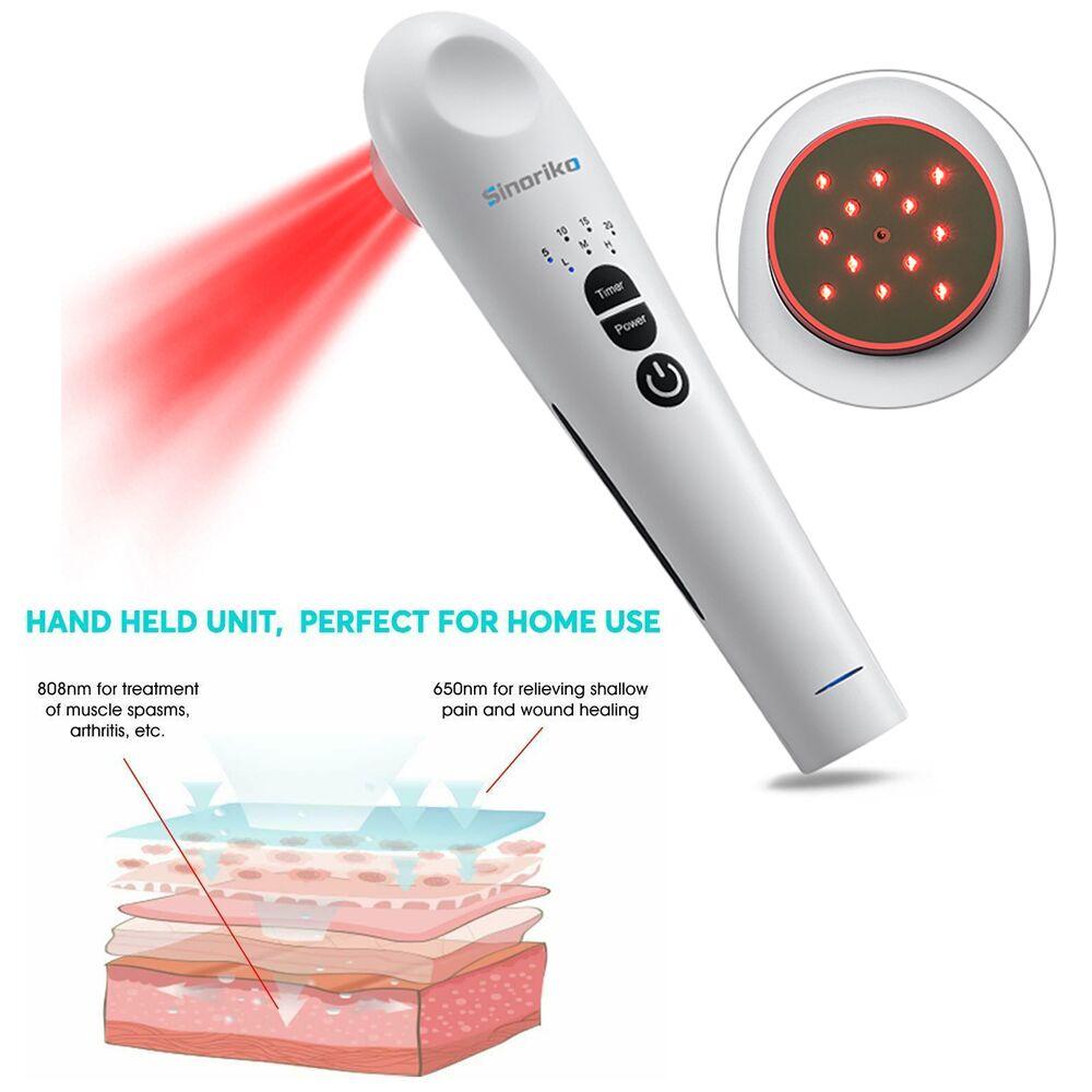 المحمولة المنزل استخدام جهاز علاج الليزر البارد للجسم آلام العضلات الإغاثة التهاب المفاصل إعادة التأهيل اليد عقد العلاج بالليزر البارد