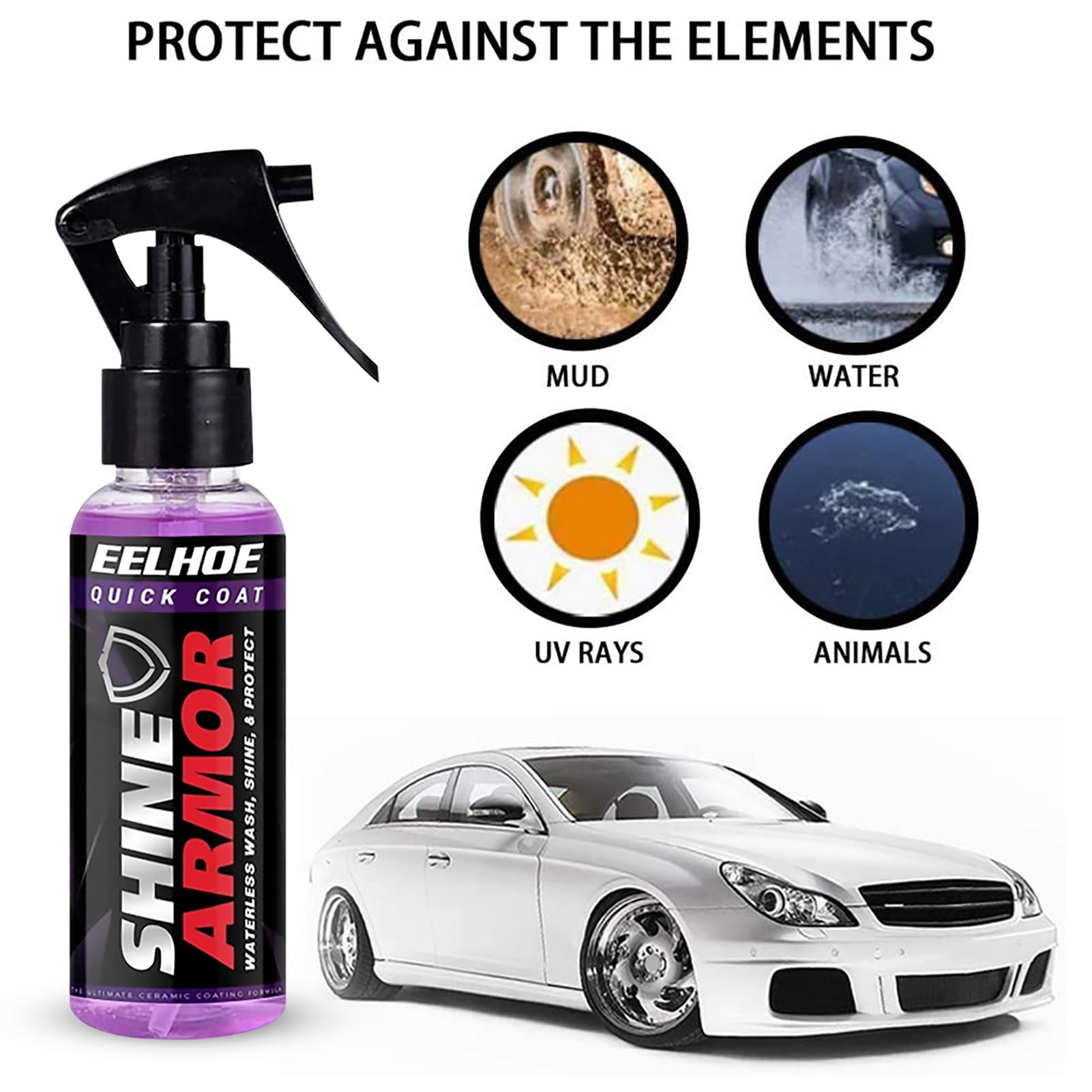 100 мл автомобиля покрытие брызга Керамика покрытие для машины, супергидрофобное покрытие для стекол Стекло, стекольное покрытие автомобиля...