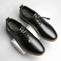 my love 2020 new men formal shoes cowhide leather shoes men comfortable low top british casual single shoes plus size 48