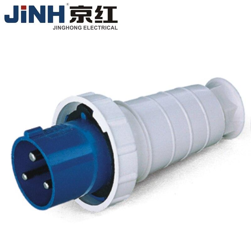 63a 3pin 2p + e ip67 à prova dip67 água macho fêmea conector elétrico de conexão de energia tomada industrial