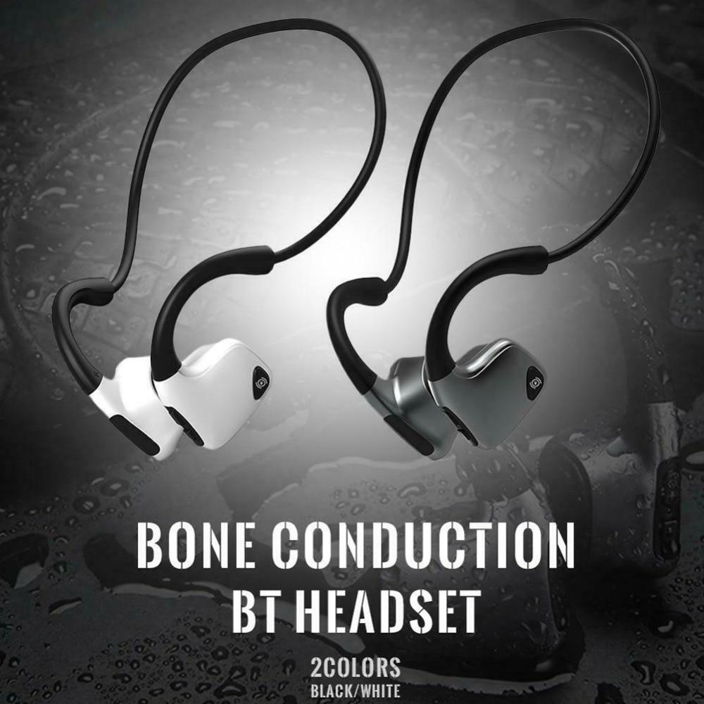 Bone Conduction Sweatproof Bluetooth-compatible Headphone 5.0 Wireless Stereo Headset Sports Neckband Earphone For iPhone Xiaomi enlarge