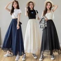 2021 summer new style temperament large size mercerized chiffon lining cotton and linen wide leg culottes 1013p55