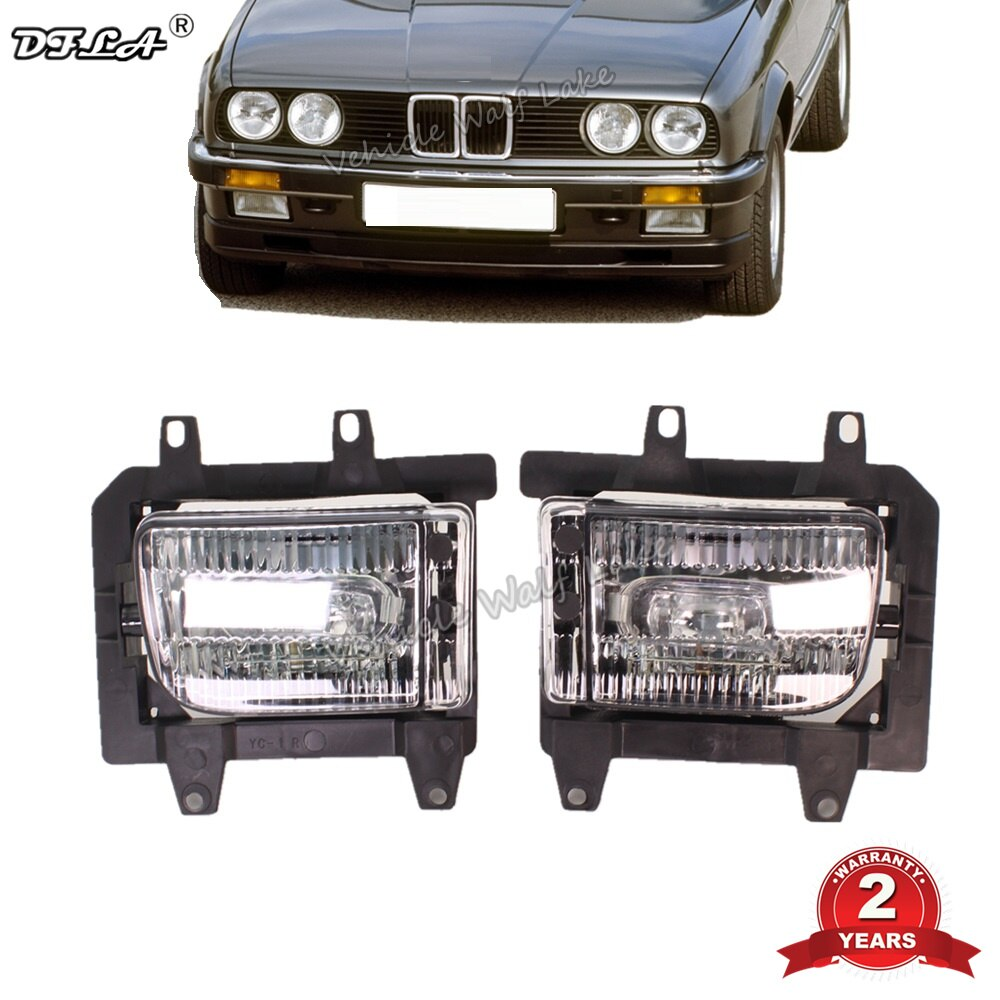 2Pcs Car Light Front Fog Light Lamp For BMW E30 1982 1983 1984 1985 1986 1987 1988 1989 1990 1991 1992 1993 Car-styling
