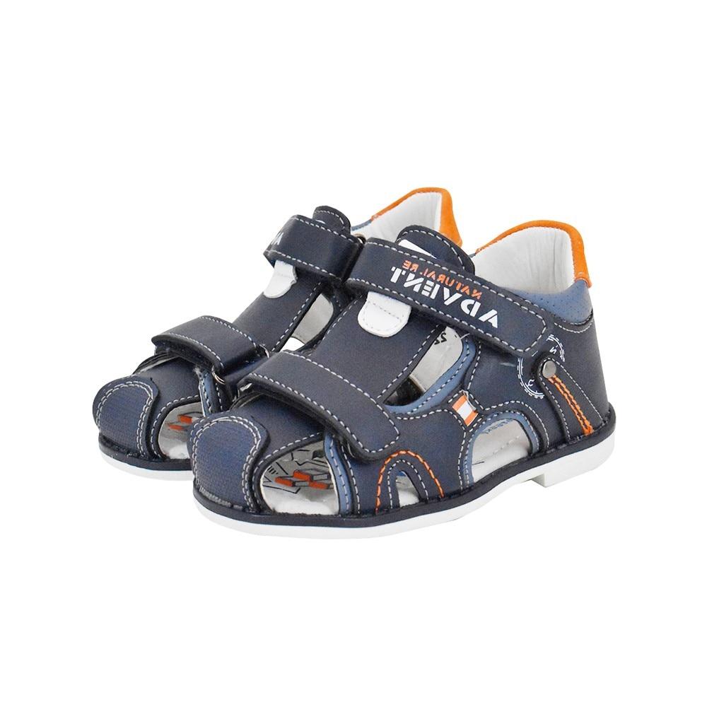 ¡Nuevo! Zapatos de verano para niños de Bessky, sandalias azules, Sandalias planas suaves y populares para niños