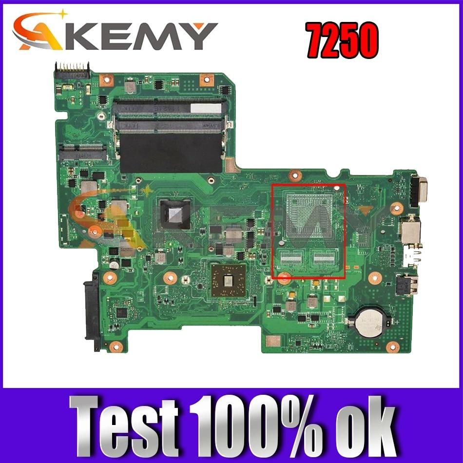 AKEMY MBRL60P004 AAB70 لوحة الأم للكمبيوتر المحمول لشركة أيسر أسباير 7250 وحدة المعالجة المركزية 08N1-0NWJ00 على متن اللوحة الرئيسية