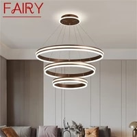 fairy nordic pendant lights contemporary luxury round home led lamp fixture for decoration