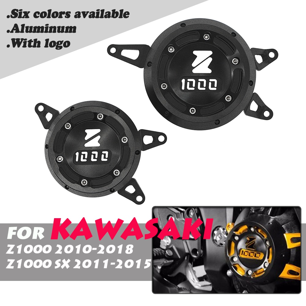 For Kawasaki Z1000 Z 1000 Z1000SX 2011-2018 CNC Aluminum Motorcycle Engine Guard Side Stator Case Guard Protector Moto motorcycle frame slider protector for kawasaki z1000 z1000sx z1000 sx 2010 2019 z900 2017 2018 2019 cnc aluminum engine guard
