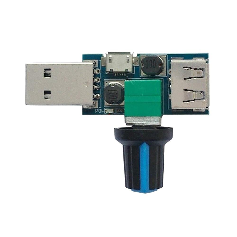 Fan Speed Controller Regulator Speed Variable Switch Module DC 4V-12V 5W New