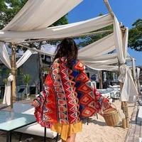 womens imitation silk scarf beach shawl spring summer autumn scarf plaid size beach shawl scarf for women