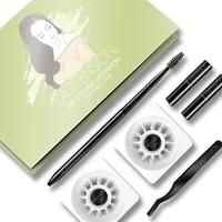 easitension diy eyelash extension kit glue bonded band individual lash 24 clusters natural lashes set faux cils individuel