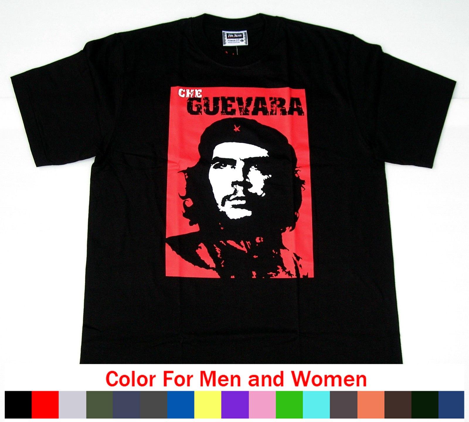 Top Che Guevara camiseta-Gr L-revolución, La revolución-Cuba Liberta 100% de algodón para venta Natural superior Tee camisas