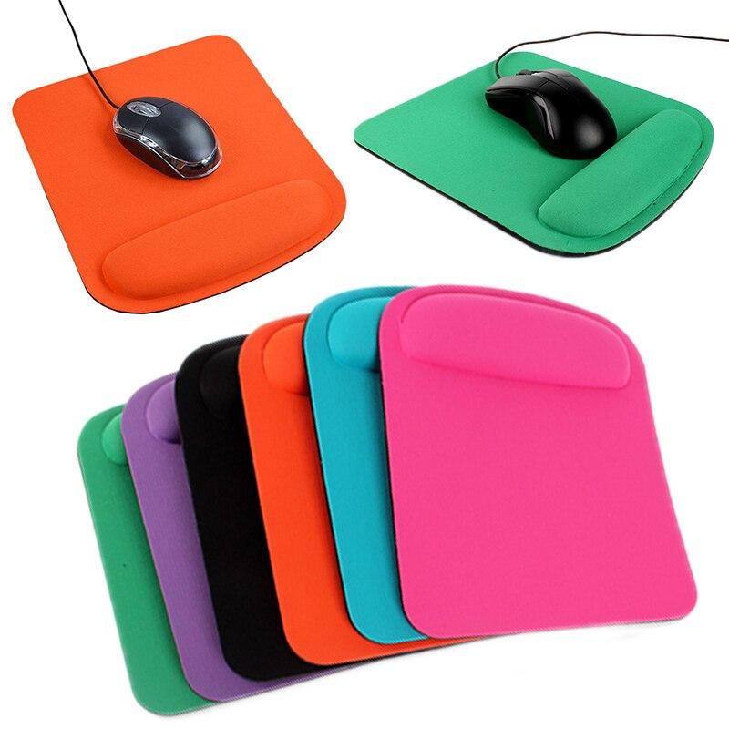 Alfombrilla de ratón cuadrada con reposamuñecas... cómoda para asegúrate portátil oficina de hogar Protector de muñeca para jueg