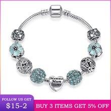 LByzHan-Bracelets et breloques en perles de 4 couleurs pour femmes, accessoires de bijouterie, B021