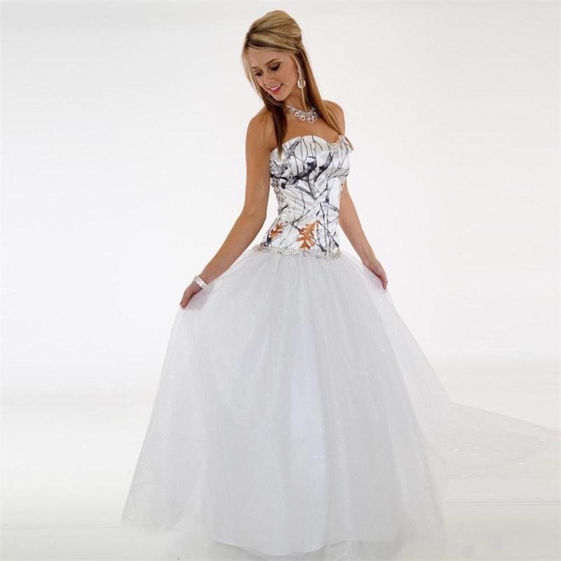 Vestidos de novia de camuflaje baratos ropa de playa Sweetheart A Line tul Back Zipper vestido de novia bohemio trajes de mariee hechos A medida