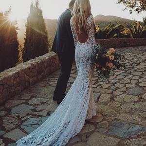 Boho пляжные богемные Свадебные платья русалки 2020 женские платья размера плюс для невесты