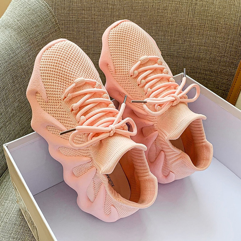Esportivos de Alta Sapatos de Corrida Verão Novo Feminino Casual Sapatos Qualidade Luz Moda Feminina Wear Confortável Respirável 2021