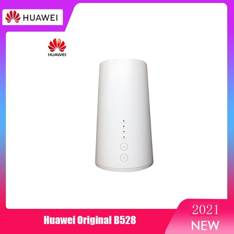 Huawei-جهاز التوجيه ، B528 LTE CPE routeur sans fil ، wifi 4G ، cat 6 ، نقطة اتصال FDD 800/900/1500/1800/2100/2600MHz ، TDD 2600M