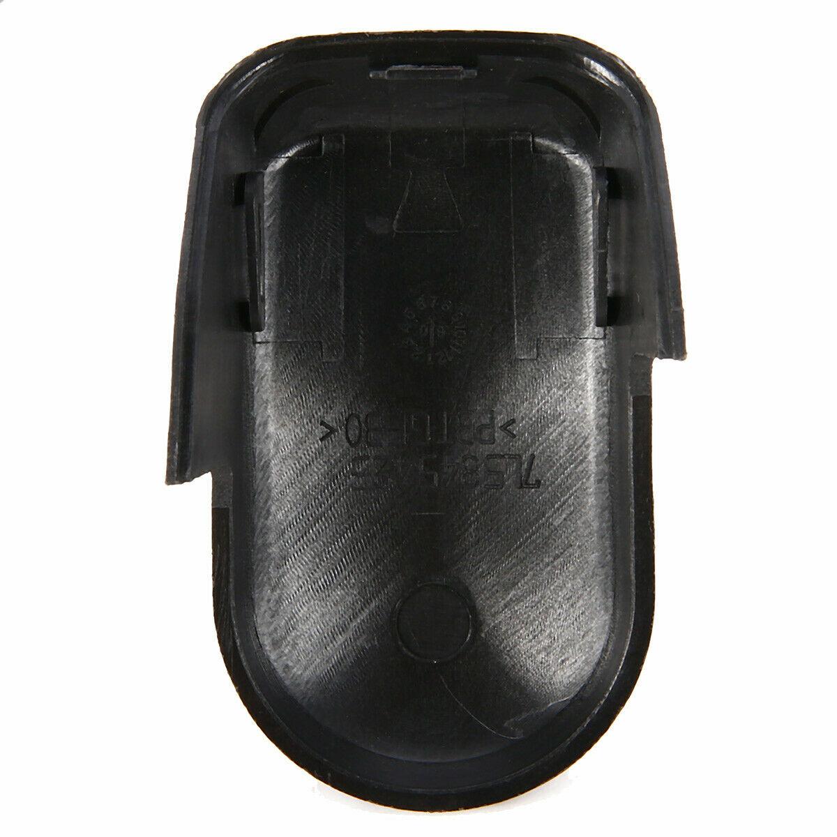 Piezas de tuerca de plástico negro cubierta de tapa para Porsche Cayenne 2003-2010 repuesto parabrisas trasero accesorios prácticos